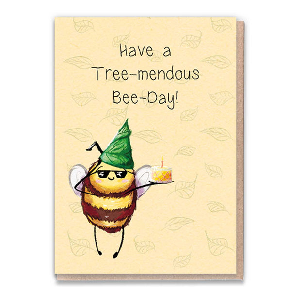 Bee Day Sunnies Card