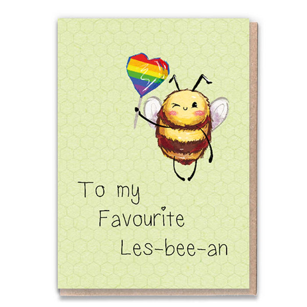 Les-Bee-An Card
