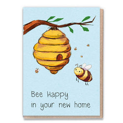 New Home Bee Card