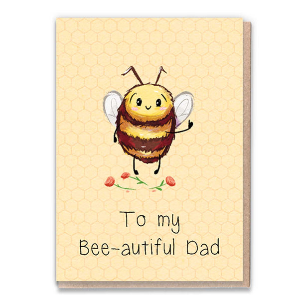 Bee-autiful Dad Card
