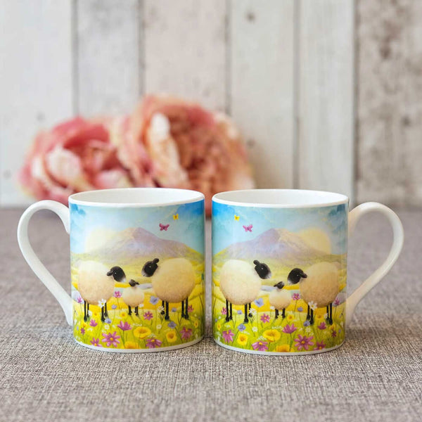 Butterflies and Babies Mug