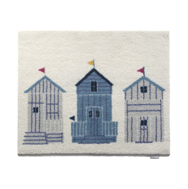 Beach House Bath Rug by Hug Rug
