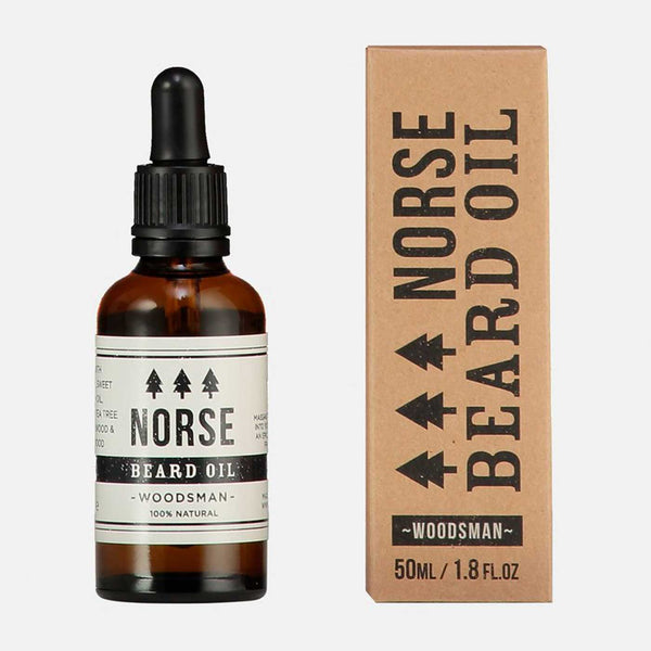 Beard Oil Woodsman by Norse