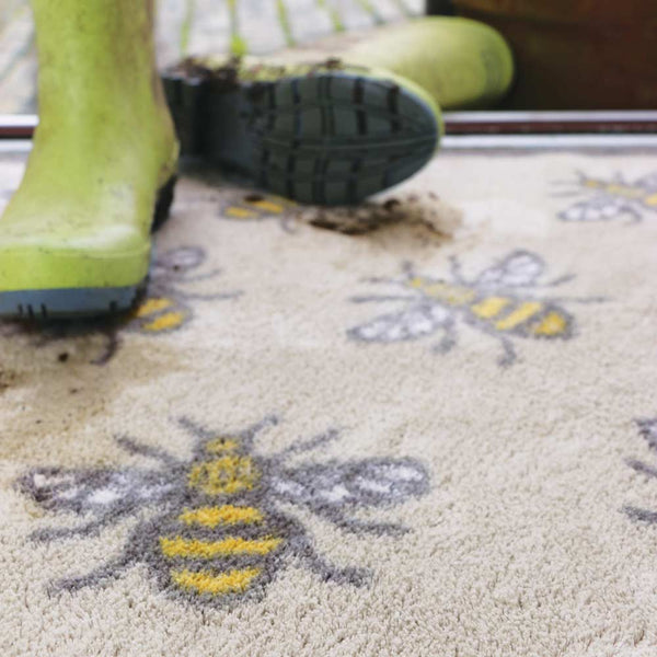 Light Bee Rug