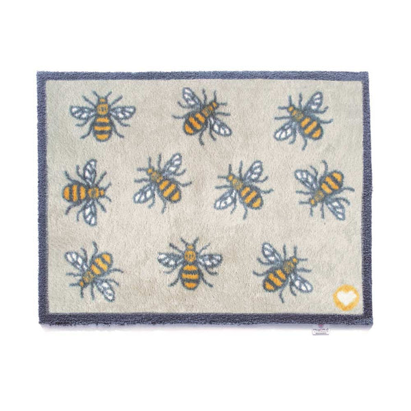 Light Bee Rug by Hug Rug
