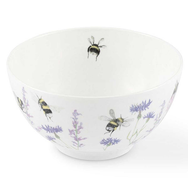 Bee & Flower China Bowl