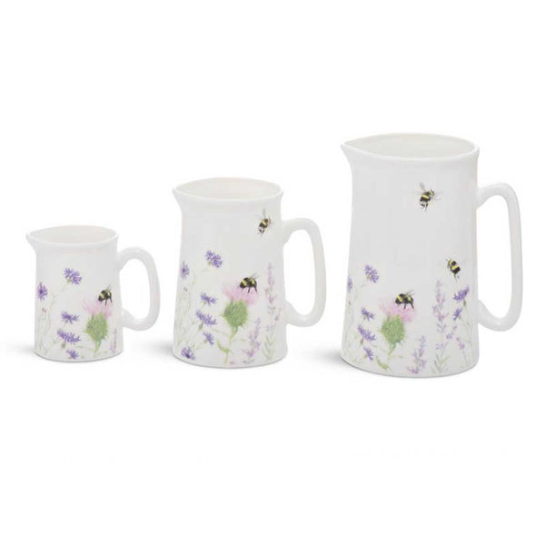 Bee & Flower Jug