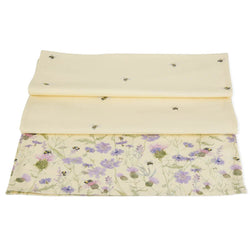 Bee & Flower Table Runner
