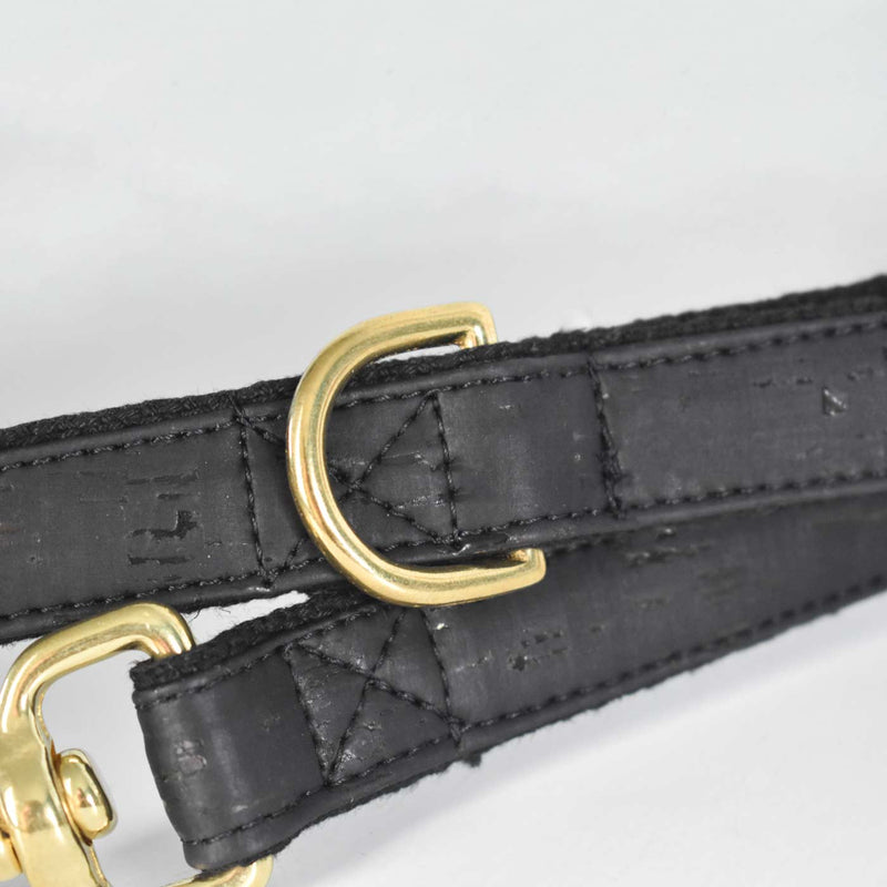 Black Cork and Hemp Dog Lead