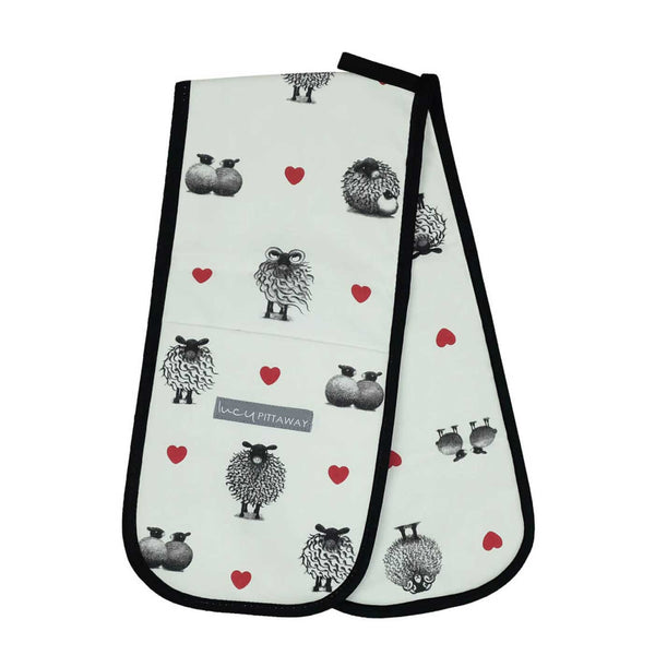 Black & White Sheep Oven Glove