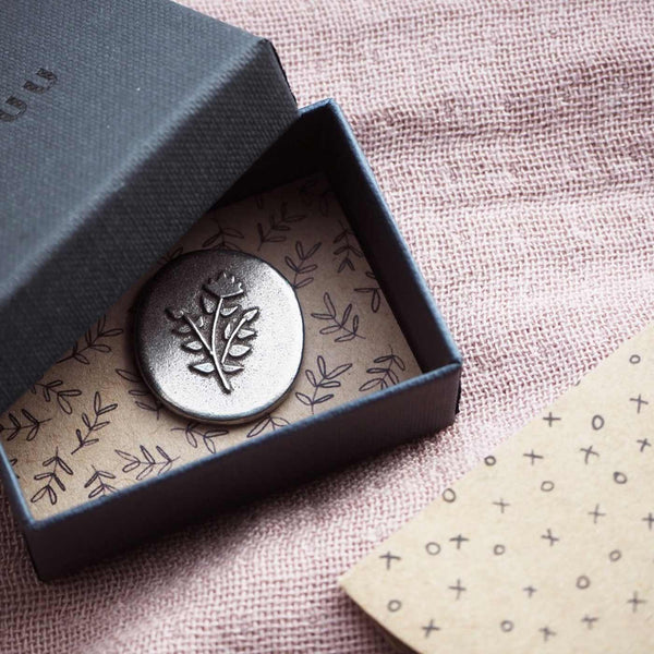 Floral 'Loved' Pocket Token Gifts