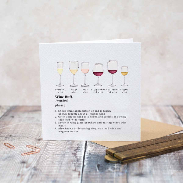 Wine Buff Card