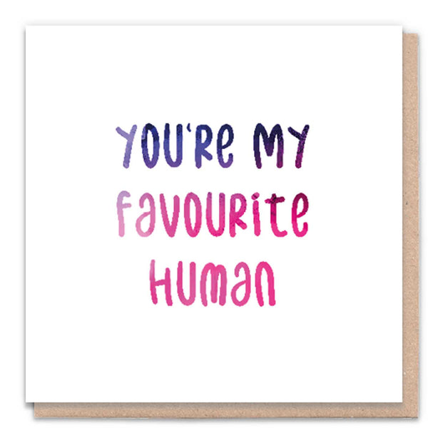 You're My Favourite Card by 1 Tree Cards