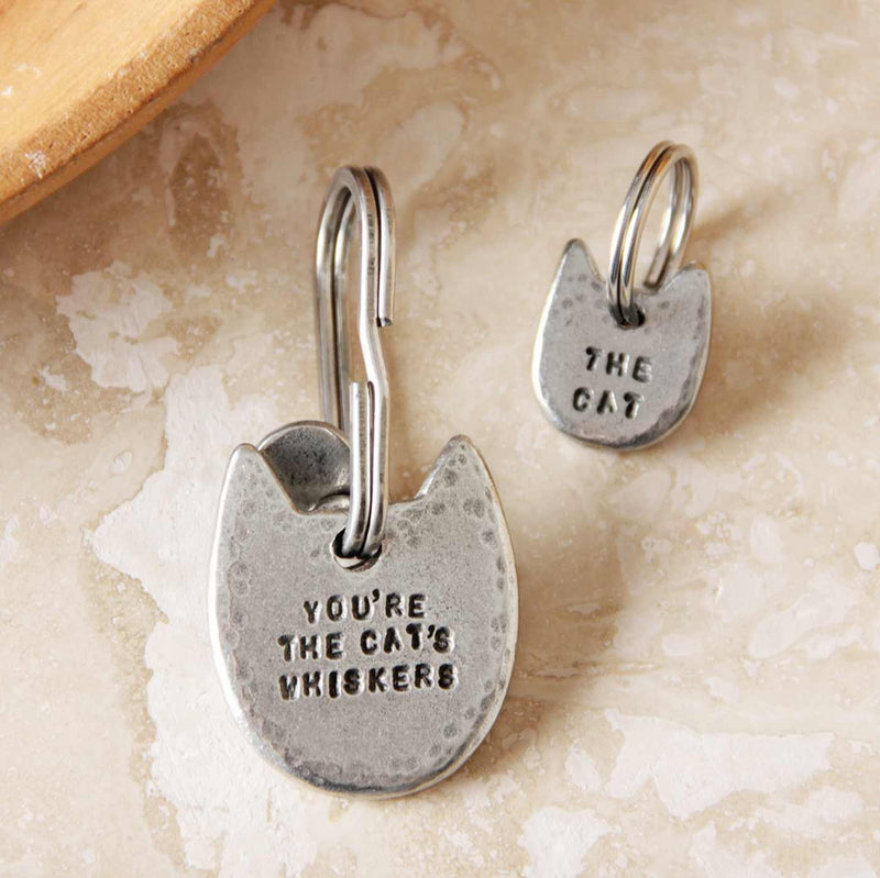 You're The Cat's Whiskers Keyring + Charm Set Gifts