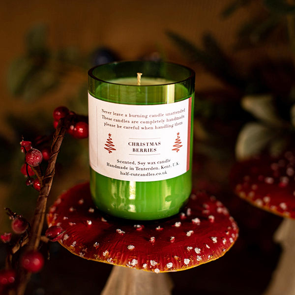 Christmas Berries Candle