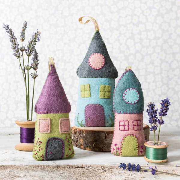 Lavender Houses Kit by Corinne Lapierre