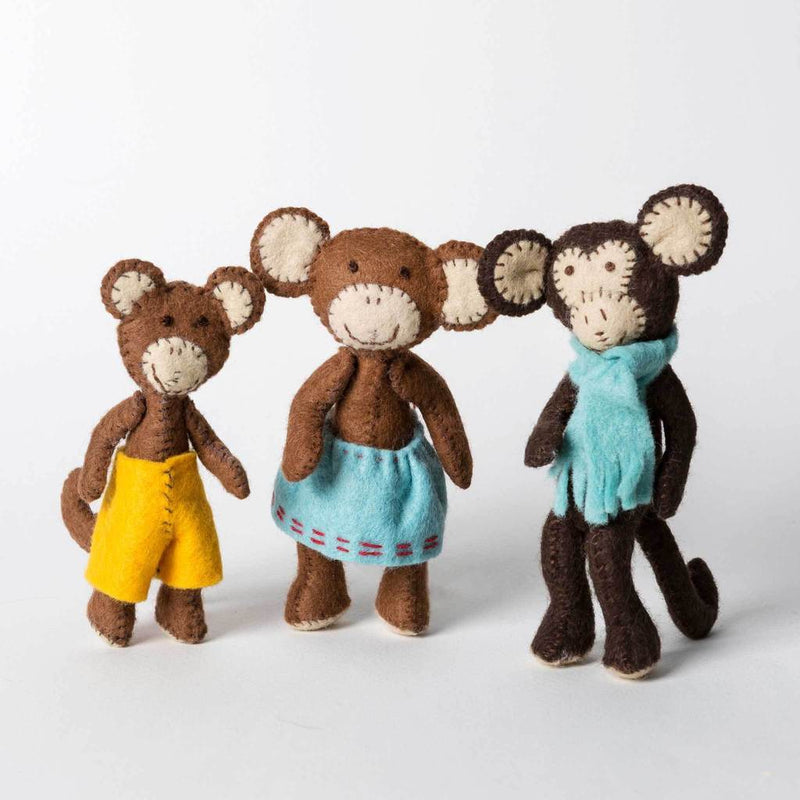Monkey Family Kit
