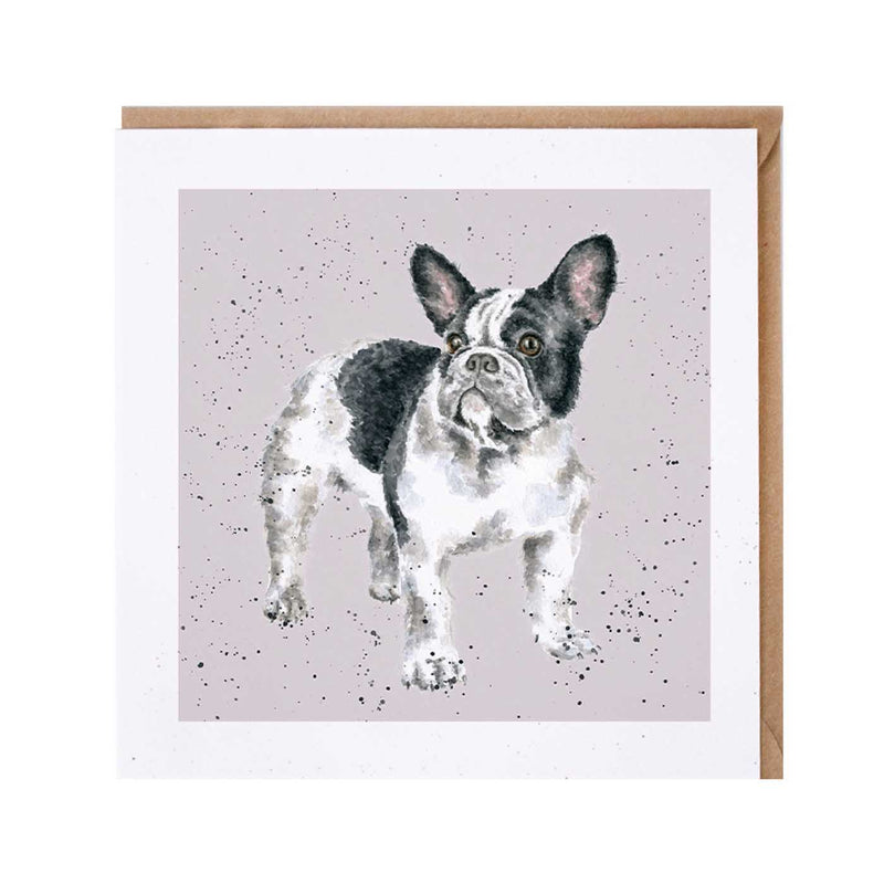French Bulldog Dog Card