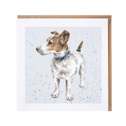Jack Russell Dog Card