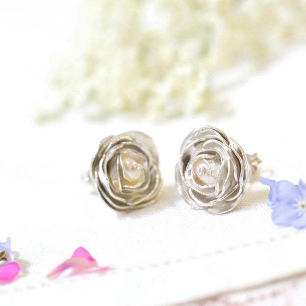 Peony Stud Earrings