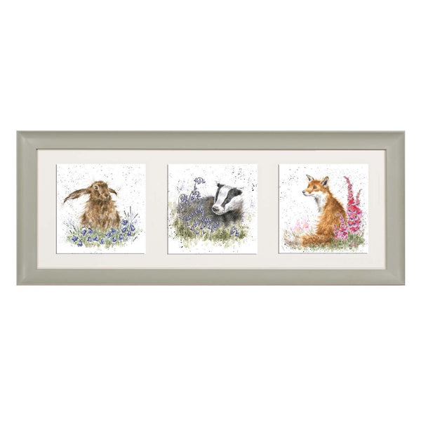 A Trio of Woodland Flora and Fauna Sage