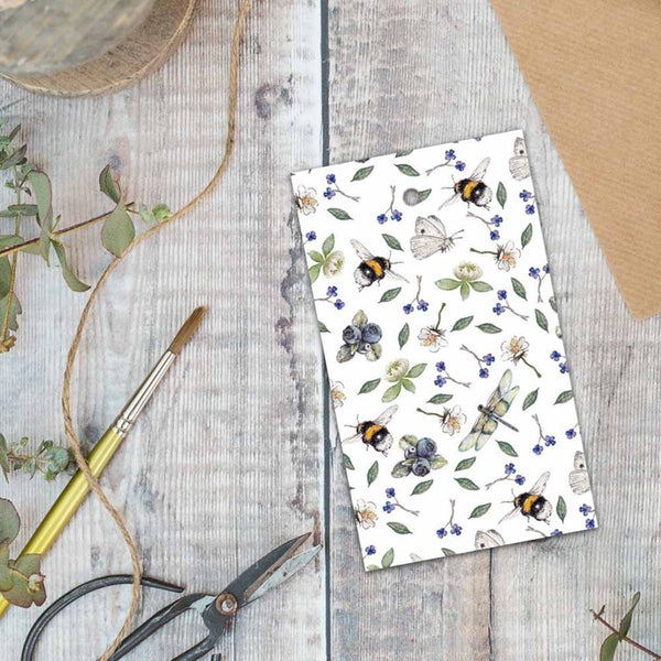Wildflower Meadows Gift Wrap & Tag