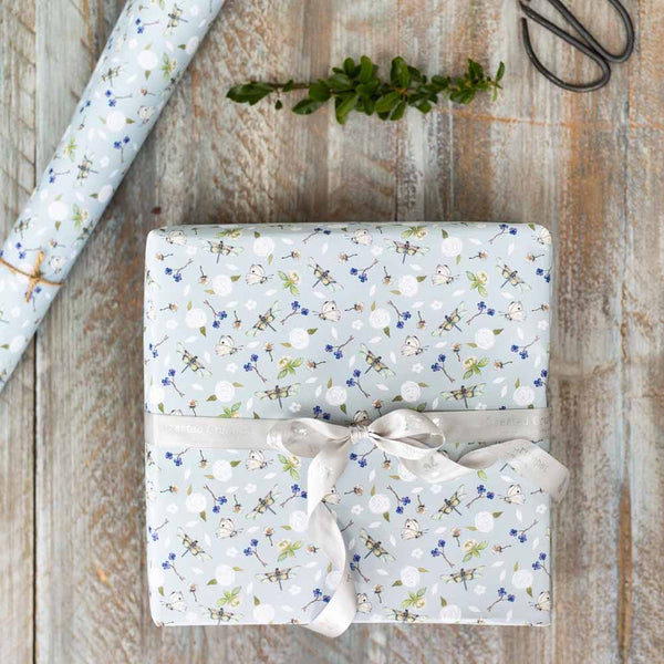 Dragonfly Gift Wrap & Tag