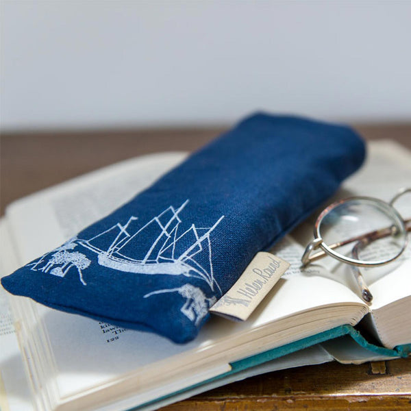 Sailing Boat Glasses Case