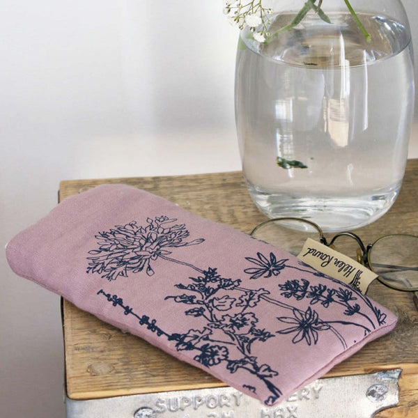 Garden Glasses Case Pink