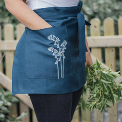 Navy Blue Apron Kitchen
