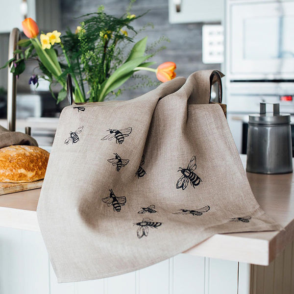 Bee Tea Towel Kitchen