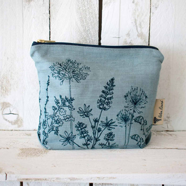 Garden Makeup Bag by Helen Round