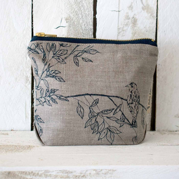 Bird Makeup Bag by Helen Round