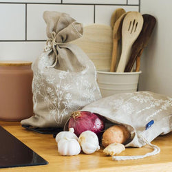 Reusable Linen Produce Bags