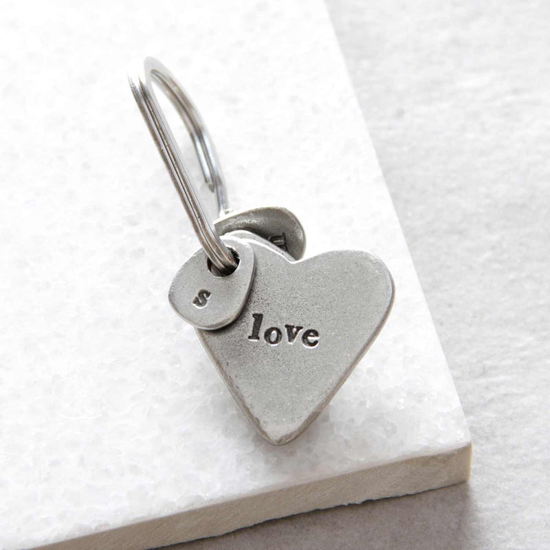 'Love' Heart Keyring Gifts