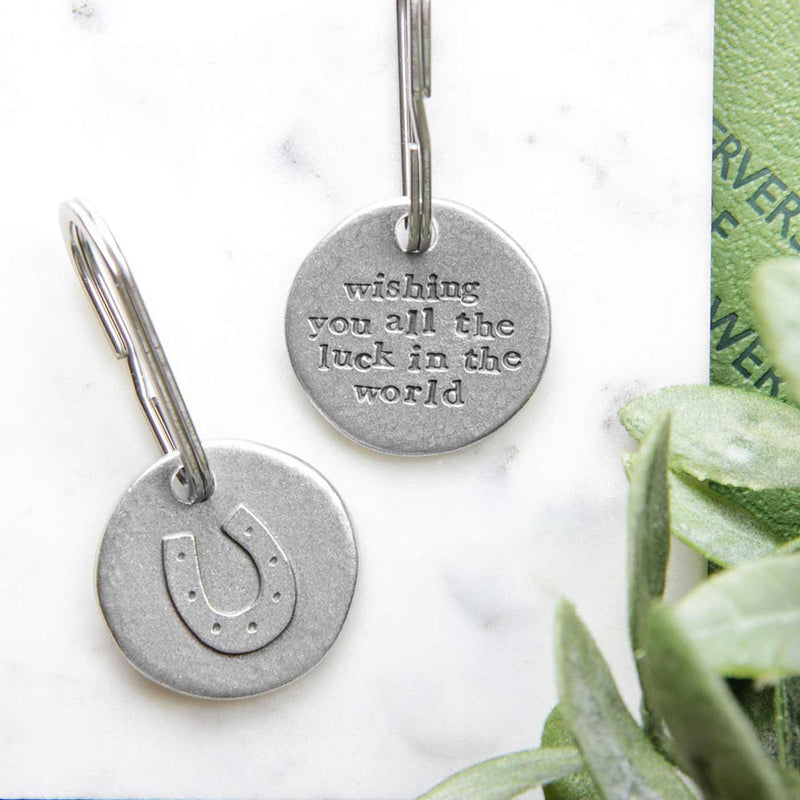 'All The Luck' Horseshoe Keyring Gifts