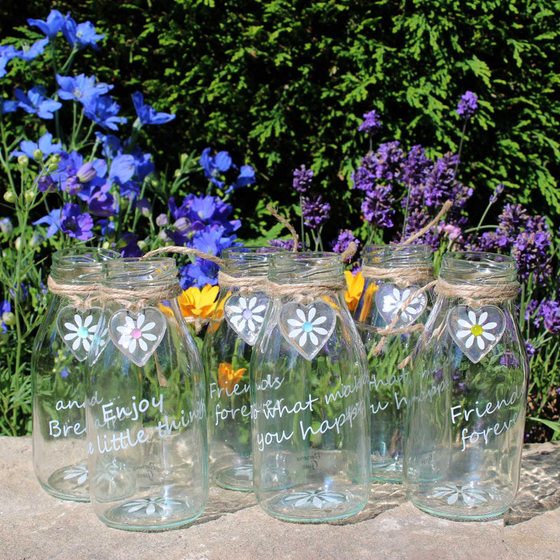 Daisy Bud Glass Vase Gifts