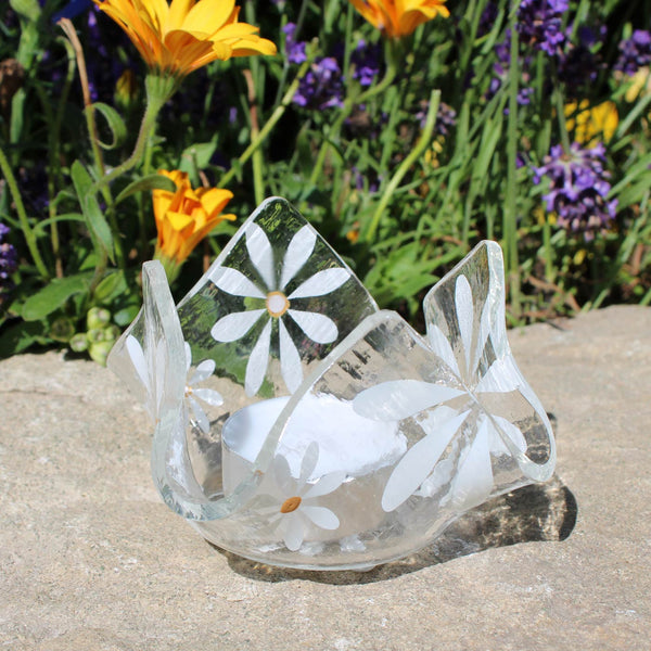 White Daisy Tea Light Gifts