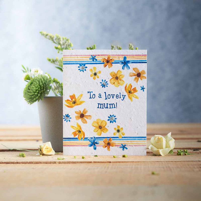 Lovely Mum Seed Card
