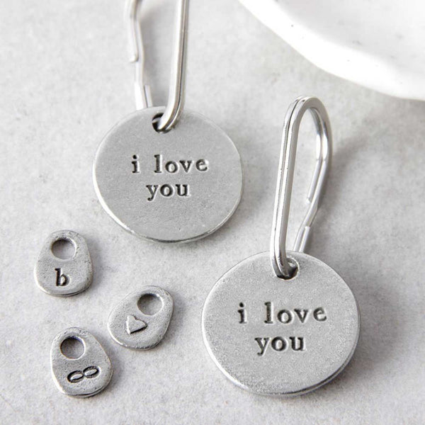'I Love You' Keyring