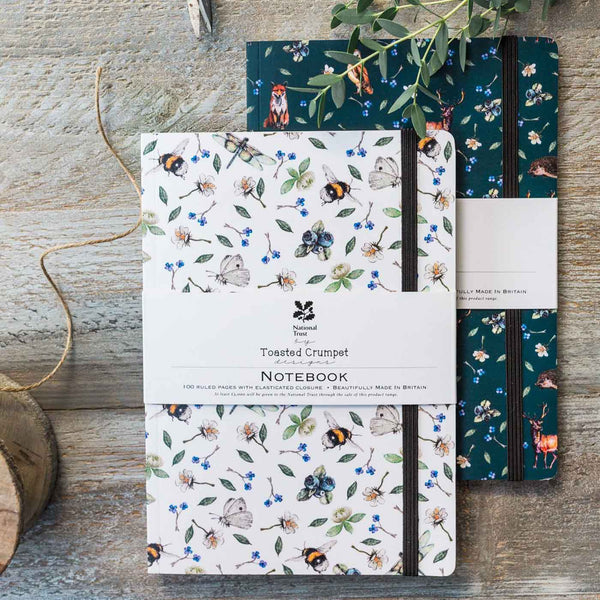 Wild Flower Meadow A5 Lined Notebook