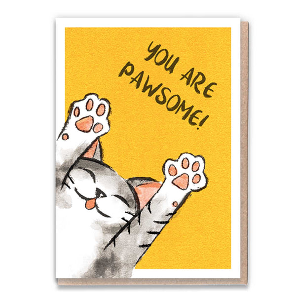 You Are Pawsome Card