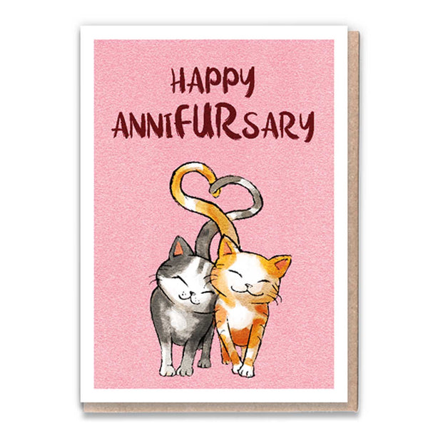 Happy Annifursary Card