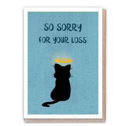 Sorry Cat Card