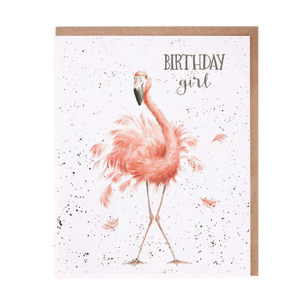 Birthday Girl Card by Wrendale