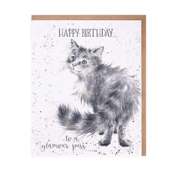 Happy Birthday Glamour Puss Card