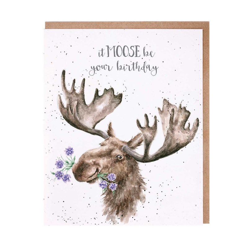 Moose Be Your Birthday Card