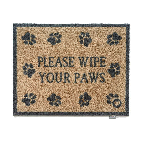 Please Wipe Paws Rug by Hug Rug