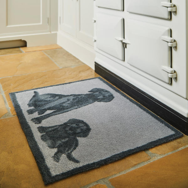 Black Lab Rug Runner