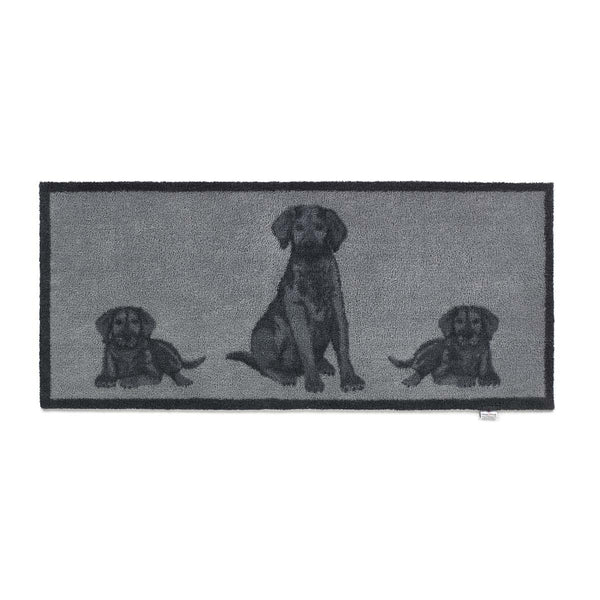 Black Lab Rug Runner by Hug Rug